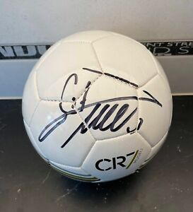 Cristiano Ronaldo Signed CR7 Museum Ball White