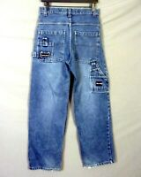 vtg 90s euc Paco Denim Jeans Loose jnco Carpenter Street Wear 18 / 30 X 30