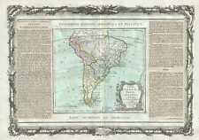 1786 Desnos and de la Tour Map of South America