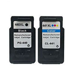 Inkjet Printer Ink for Canon PG 440 & CL 441 use in MG4240 MG4140 MG3540 MG3240