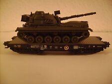 Märklin 4MFOR HO 47951 Bundeswehr M48  Panzer mit Schwerlastwagen Sonderserie