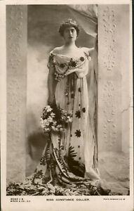 Posted 1909 English Actress Constance Collier in Greek/Roman Costume