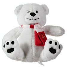 Manchester United Christmas Polar Bear Soft Toy Football Sport