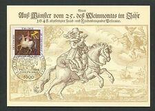 BRD MK POSTREITER PFERD HORSE CHEVAL MAXIMUMKARTE CARTE MAXIMUM CARD MC d7240