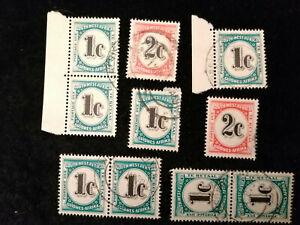 Namibia - Südwestafrika ab ca.1961 - gestempelt Portomarken    Lot 1.