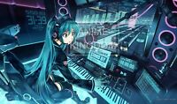 Custom Yugioh CARDFIGHT VANGUARD MTG WOW Playmat Hatsune Miku #387