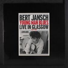 BERT JANSCH: Young Man Blues, Live In Glasgow 1962-1964 LP (UK, 2 LPs, insert,