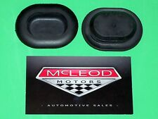 2 EA MOPAR OE Rubber Oval Body Plugs Fits Wrangler TJ, Grand Cherokee, Commander