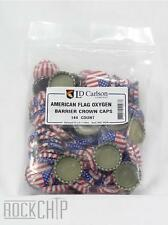 American Flag Oxygen Absorbing Crown Bottle Caps- Bag of 144, Home Beer Brewing