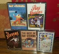 RAY STEVENS Comedy Lot of 5 Cassette Tapes Best Of collection, and more
