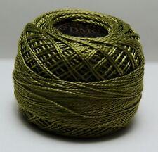 DMC Pearl Cotton Ball (10 gram) Size 8 Color #581 green C
