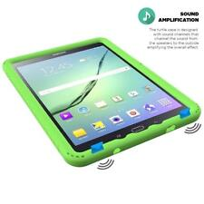 For Samsung Galaxy Tab A 9.7 Inch Tablet SM-T550 Silicone Cover Case Green