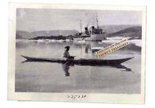 Original 1933 Press Photo Jean Charcot French Arctic Expedition Native Boat Ship