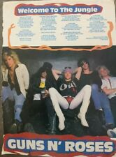 GUNS N ROSES: WELCOME TO THE JUNGLE_from AUSTRALIA Heavy Metal Hard Rock