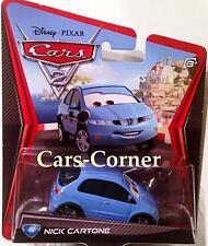 Disney Pixar Cars 2 Nick Cartone #46 der Reporter aus Italien - NEU & OVP
