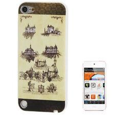 Silikon Case Schutzhülle für Apple iPod Touch 5 Schlösser / Burgen Hülle Cover