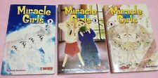 Miracle Girls by Nami Akimoto (Set of 3 volumes)