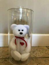 Ty Beanie Babies Valentino the Teddy Bear 1994 - White