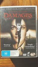 Damages : Season 1 [ 3 DVD Set ] Region 4, FREE Next Day Post from NSW