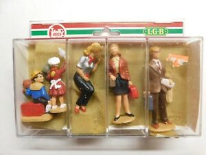 G Scale - LGB - Hand Painted People Figures Man, Woman, Children NEW!