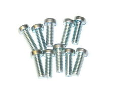 "Ten Meccano Part 111a Allen Bolt ½"" Zinc Original"