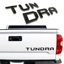 3D Raised Tailgate Insert Letters Metal Fit 2014-2019 Toyota Tundra-Matte Black (Fits: Toyota)