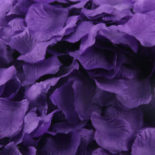 CADBURY PURPLE SILK ROSE PETALS FLOWER TABLE DECORATION CONFETTI WEDDING PARTY