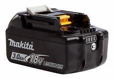 Makita BL1830B 18V Li-ion Battery 3.0Ah c/w Charge Level Indicator