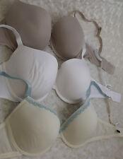 34D Bra Bundle x3 underwired bras  ladies lingerie (1812)