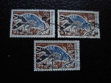 COTE D IVOIRE - timbre yvert/tellier n° 241 x3 obl (A28) stamp