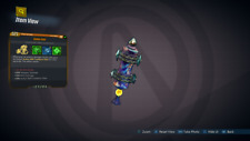 Borderlands 3 NEW GOLDEN RULE AMARA Class Mod GOD ROLL SMG - PC