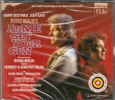 COFFRET 2 CD COMEDIE MUSICALE BROADWAY--ANNIE GET YOUR GUN--BOSZTWICK--NEUF