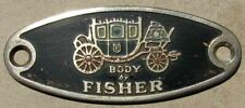 GM FISHER BODY EMBLEM Buick Cadillac Chevrolet Oldsmobile Pontiac #H152