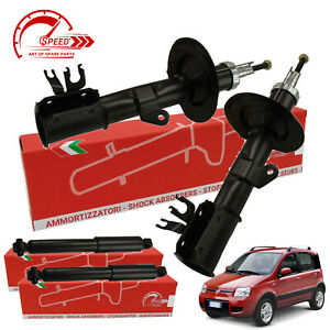 Kit 4 ammortizzatori Fiat Panda 4x4 2 169 1.2 1.3 Multijet Natural Power 2003