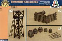 Italeri 1/32 Battlefield Accessories # 6870