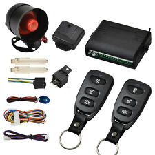 Car Vehicle Protection Alarm Security System Door Lock Keyless Entry System 12V