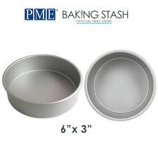 PME Round Cake Pan Baking Tin - 3 Inch Deep - All Sizes