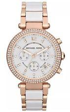 Michael Kors Damen Uhr Parker MK5774 Chronograph Edelstahl NEU