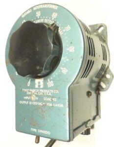 VARIAC STACO 3PN1010 - Tested / Working 10  AMP / 1.4 KVA