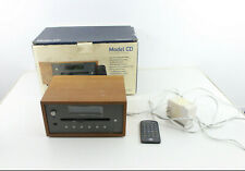 Tivoli Audio Model Cd Player Woodgrain Home Audio With Original Box