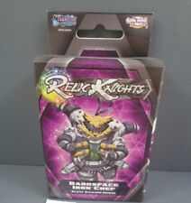 ML Relic Knights Strategy Game - Darkspace Iron Chef - Black Diamond BNIB