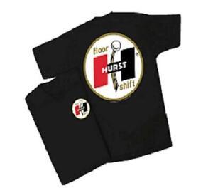 Hurst Shifter Logo Mens Black T Shirt