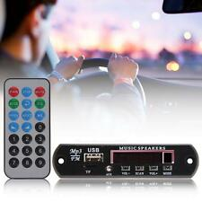 Vehicle Car Music MP3 WMA Decoder Board 12V Module USB TF FM AUX Audio Player