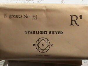 5 GROSS ( 720 Pieces) DSW Swarovski crystal Starlight SS 24 Machine Cut NICE!