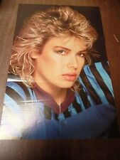 """Kim Wilde Poster Sleeve Go For It 15x22"""" Original Poster 120215ame"""