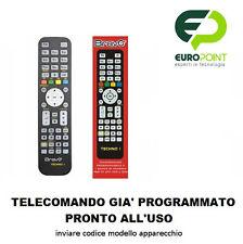 Telecomando compatibile per TV televisore o Decoder SATELLITE già programmato