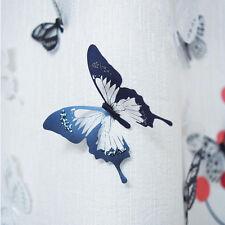 3D DIY 18pcs Butterfly PVC Art Decal Home Decor Kids Room Wall Mural Stickers 01