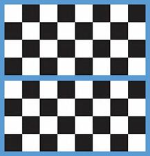 Checkerboard Stencil 2 inch squares Country Rustic Game Stencil 2 pieces