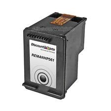 CH561WN BLACK Printer Ink Cartridge for HP 61 61 Deskjet 1010 1055 1510 1512