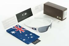 Oakley Antix Australia Polished White with Grey 24-169 Serial S0000189